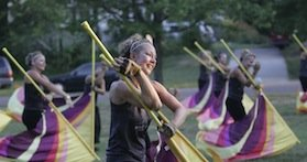color guard camp