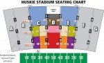 NIU stadium seating chart