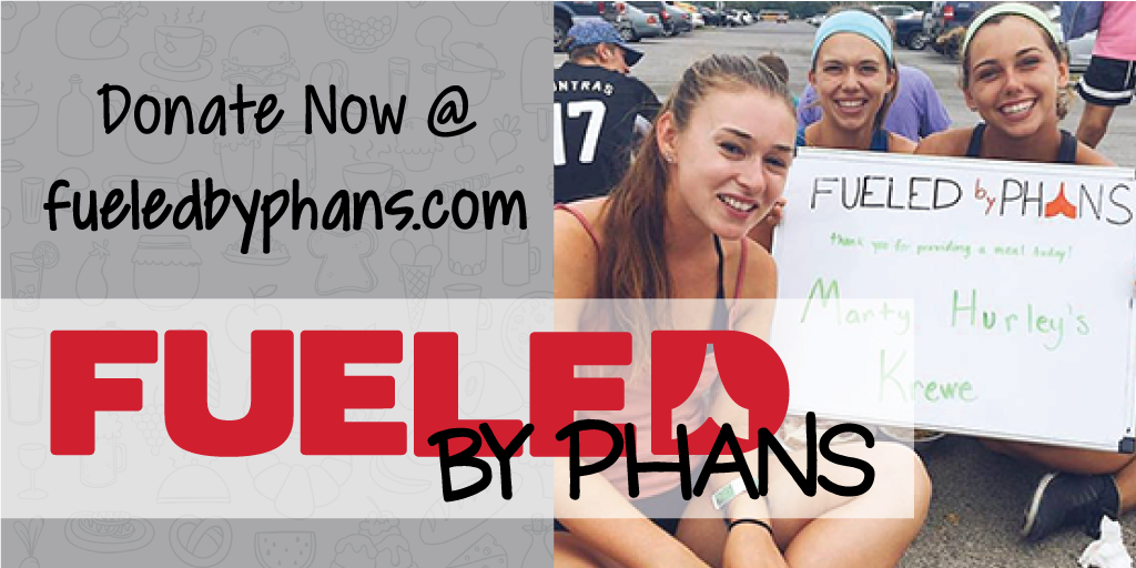 Fueled by Phans over halfway to goal!