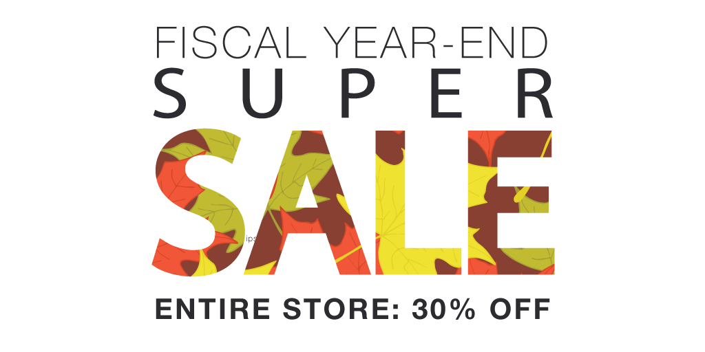 Fiscal Year-End Sale Banner Image