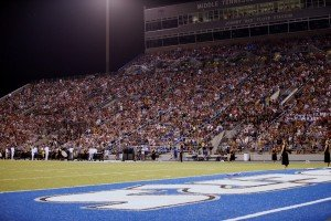 MTSU Packed Stadium