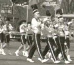 Dr. Dan (center, with the high toes) as a marching member at 16 years  old.