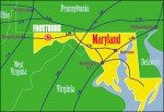 FSU Frostburg drive map