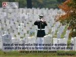 Memorial Day - Ronald Reagan