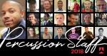 2018 Phantom Regiment Percussion Staff