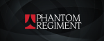 Phantom Regiment Logo with Black Background