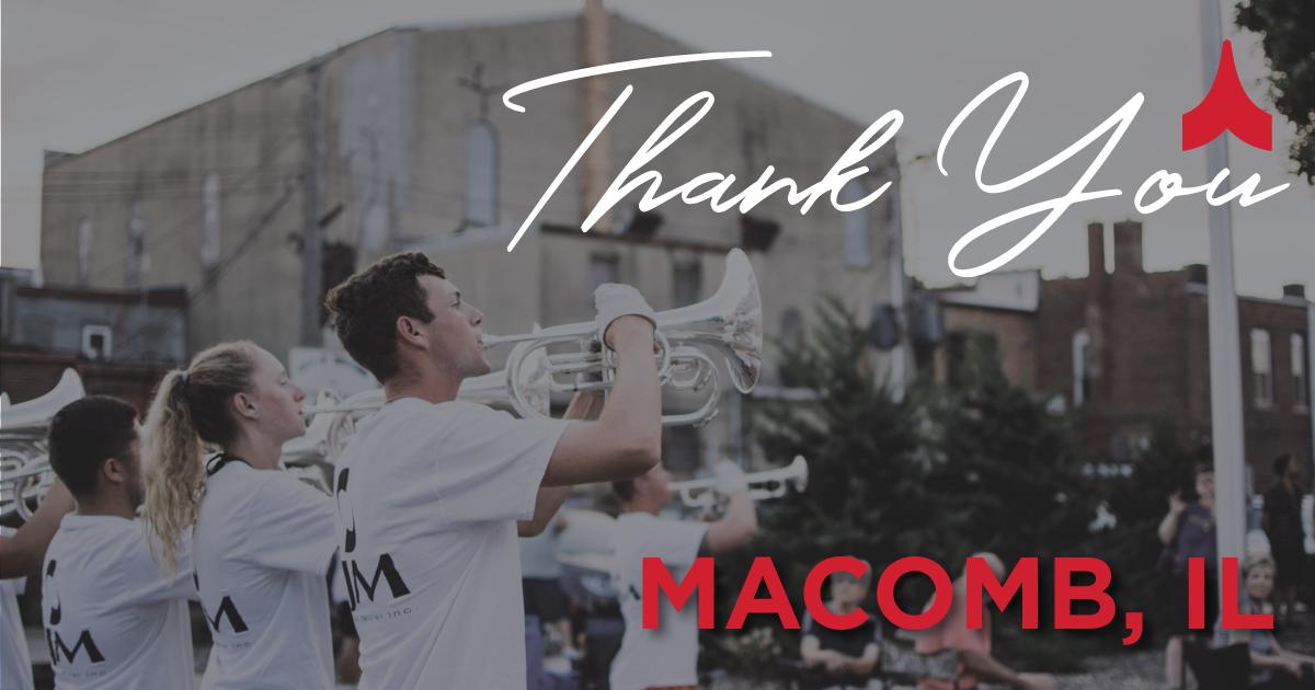 Thank you, Macomb