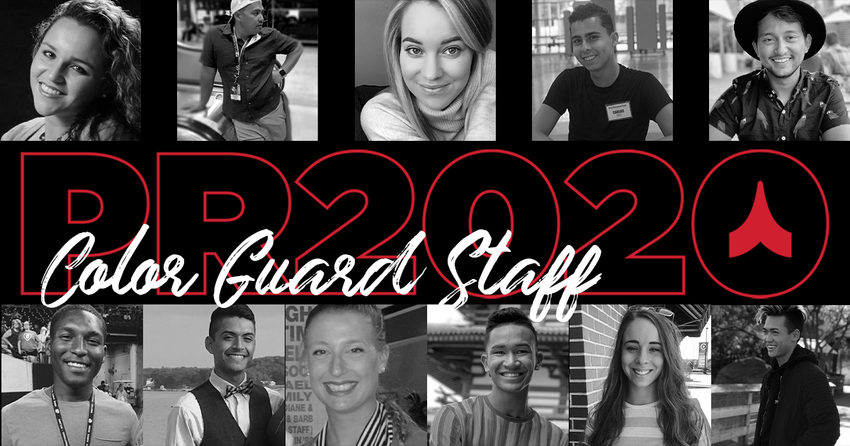 Countdown to PR2020: Meet the Color Guard Instructional Staff