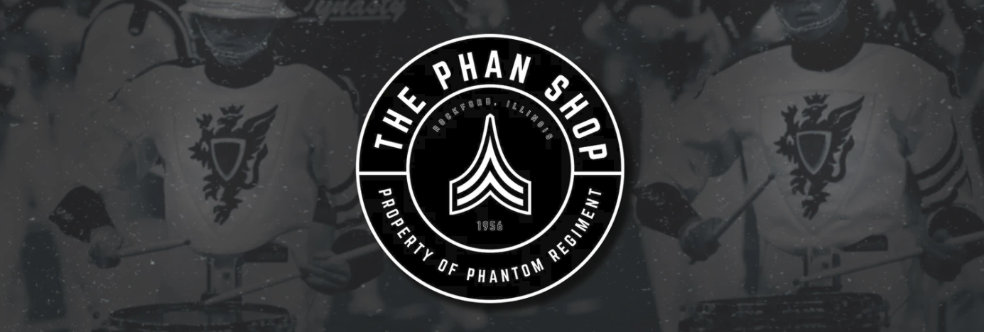 The Phan Shop logo with background
