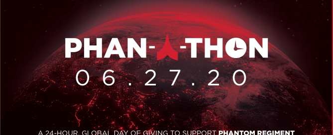 Phan-a-thon logo over image of the globe