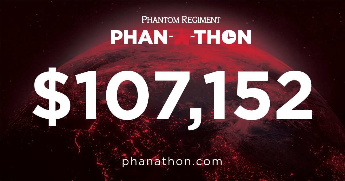 phan-a-thon logo and donation total