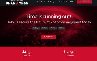 Screenshot of phanathon.com