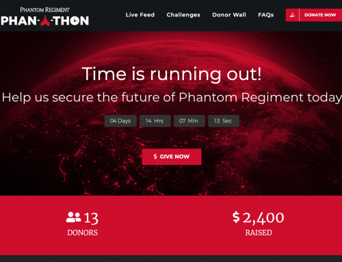 Now LIVE: phanathon.com