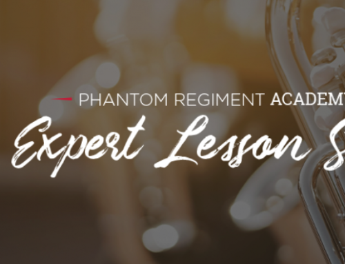 Phantom Regiment's 'Expert Lesson Series' now available