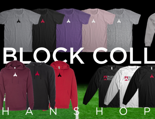 New Merch! The Basics Block Collection.