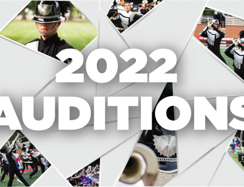 Registrationis now OPEN for 2022 Drum Corps Auditions!